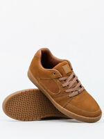 eS Shoes Accel Slim Brown Gum USA SIZE Skateboard Sneakers