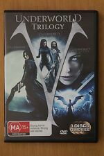 Underworld Trilogy by Sony Pictures Home Ent (DVD video, 2015)   - (D74)