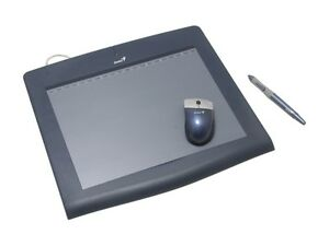 GENIUS Pensketch 9x12 Tablet for Graphic Users - New