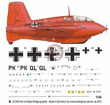 Peddinghaus 1/48 Me 163 B-0 V41 Komet Markings Wolfgang Späte EKdo 16 1944 2506