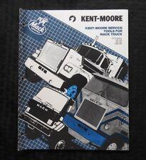 1980s KENT MOORE MACK MS 200 300 EM9-400 SEMI-TRUCK SPECIAL TOOLS CATALOG MANUAL