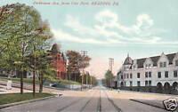 Postcard Perkiomen Ave from City Park Reading PA