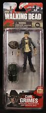 "2013 MCFARLANE TOYS: THE WALKING DEAD SERIES 4 CARL GRIMES 5"" ACTION FIGURE MOC"
