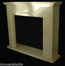 Fireplace Marble Yellow Silvia Gold Stone Handmade Old Interior Design Home