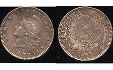ARGENTINE 2 centavos 1891  ( bis )