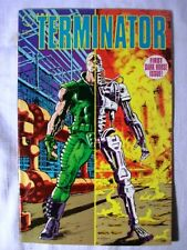 The Terminator:Tempest by John Arcudi and Chris Warner (1990, Dark Horse) FP  NM