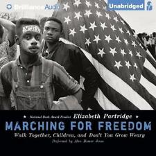 BOOK/AUDIOBOOK CD Age 10+ Elizabeth Partridge MARCHING FOR FREEDOM