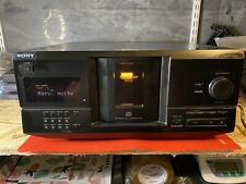 Vintage Sony Cdp-Cx235 Cd Player 200 Multi Disc Storage Tested Works no remote