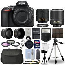 Nikon D5600 Digital Slr Camera + 16Gb Multi Lens Bundle: 18-55mm + 55-200mm Vrii