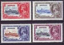 Bermuda 1935 SC 100-103 MH Set Silver Jubilee