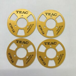 Set of 12 Teac Gold Reels Cassettes Tapes