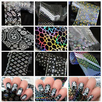 Nail Foils Stickers Transfer Decals Nail Art Starry Paper Wraps  DIY