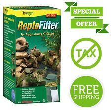 Tetra ReptoFilter Terrariums Filter Replacement Frogs Newts Turtles Removes Odor