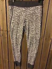 Victoria's Secret pajama pants leopard thermal m medium New