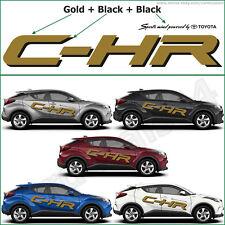 "Toyota C-HR / CHR Decal Sticker Banner Vinyl Emblem Logo (2 X 64"") + (2 X 23"")_A"