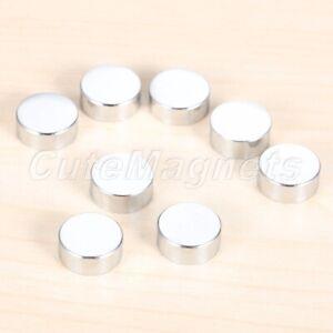 8pcs Silver Decorative Nails Mirror Tea Table Wardrobe Glass Advertisment Screws