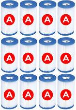 Cartouches de filtration Piscine x 6 Intex Type a