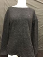 32 Degrees Heat Ladies Pull Over Long Sleeve Medium Size Black Space Dye Color