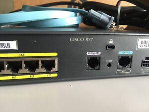 ROUTER CISCO 877 SEC-K9
