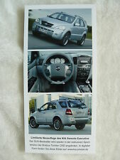 KIA SORENTO Executive CRD Press Photo Factory Photo Press Photo (k0016