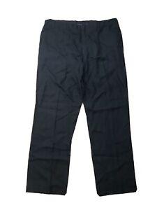 """Ralph Lauren """"Purple Label"""" Men's Linen Straight Leg Dress Pants Black Size 42"""