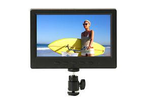 7 Inch IRIS Pro DSLR 1080/4K Compatible HDMI LCD Monitor (P7HD2) from ProAm USA