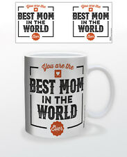 BEST MOM IN THE WORLD 11 OZ COFFEE MUG MOTHERSDAY LOVE PARENT GIFT PRESENT CARE!