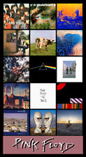 "PINK FLOYD album discography magnet (4.5"" x 3.5"")"