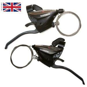 For Shimano ST-EF51 GEAR Shifter/Brake Lever 3 X 7,8 Speed /Set Black V-Brake