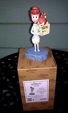 "Flintstones "" Beautiful Bond "" Wilma & Pebbles Figurine By Jim Shore 4051594 New"
