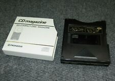 Pioneer 6-Disc Cd Cartridge Magazine Prw-163 For Home & Car Use Free Shipping!