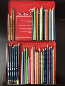 40+ Karisma Derwent Faber-Castell Caran d'Ache Watercolour Pencils Used