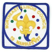 1997 Marbles Northeast Illinois Council Patch