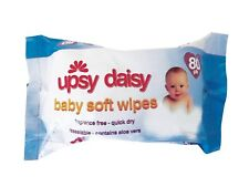 80PC BABY WIPES SOFT AND GENTLE LIGHTLY FRAGRANCE WET CLEAN ALCOHOL FREE NEW