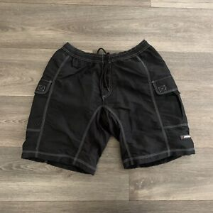 Specialized Mountain Bike MTB Black Cargo Padded Cycling Shorts Size Med