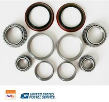 2x Front Wheel Bearing & Race & Seal Kit For 2003-2013 FORD E250