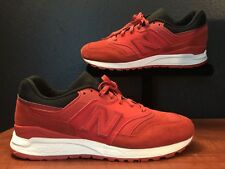 New Balance 997.5  Running Shoes ML997HBD Red Black White 997 Men's Size 9 NEW