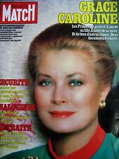 PARIS MATCH N° 1717 GRACE DE MONACO PRINCESSE CAROLINE GUERRE DES MALOUINES 1982