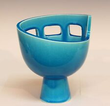Vintage Japanese Kyoto Studio Pottery Ikebana Modern MCM Atomic Toyo Vase
