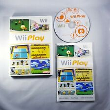 Wii Play (Nintendo Wii) Sports Games - Complete with Manual - Fast Free Shipping
