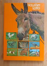 DDR Spiel Haustier Lotto Memory Original Zustand OVP Kinder Spielzeug VEB Plasti