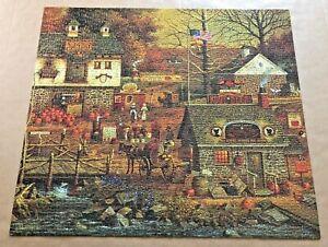 "Charles WYSOCKI ""Autumn At Stony Creek"" 1000 pc. Puzzle"