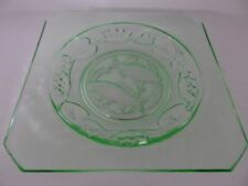 Britain Plate Green Glass