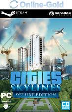 Cities: Skylines Deluxe Edition Key - PC Steam Codice digitale Simulazione - EU