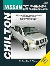Chilton Nissan Titan/ Armada 2004-2010 Repair Manual