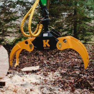 Kellfri Timber KG21 Grab/Grapple Digger/Excavator/Forestry/Crane £640.00+VAT