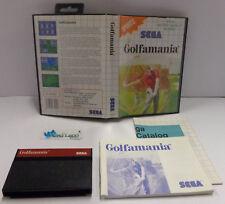 Console Gioco Game SEGA 8 BIT Cartuccia MASTER SYSTEM PAL Golf - GOLFAMANIA -