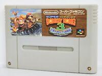 Super Famicom SUPER DONKEY KONG 3 Country Nintendo Cartridge Only sfc