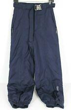 Columbia Womens L Navy Blue Snow Pants Pockets Belted Elastic Snowboarding Ski