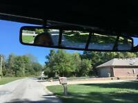 "1.75"" Center Rear View Mirror Round Roll Cage Bar For Polaris Ranger RZR Ace UTV"
